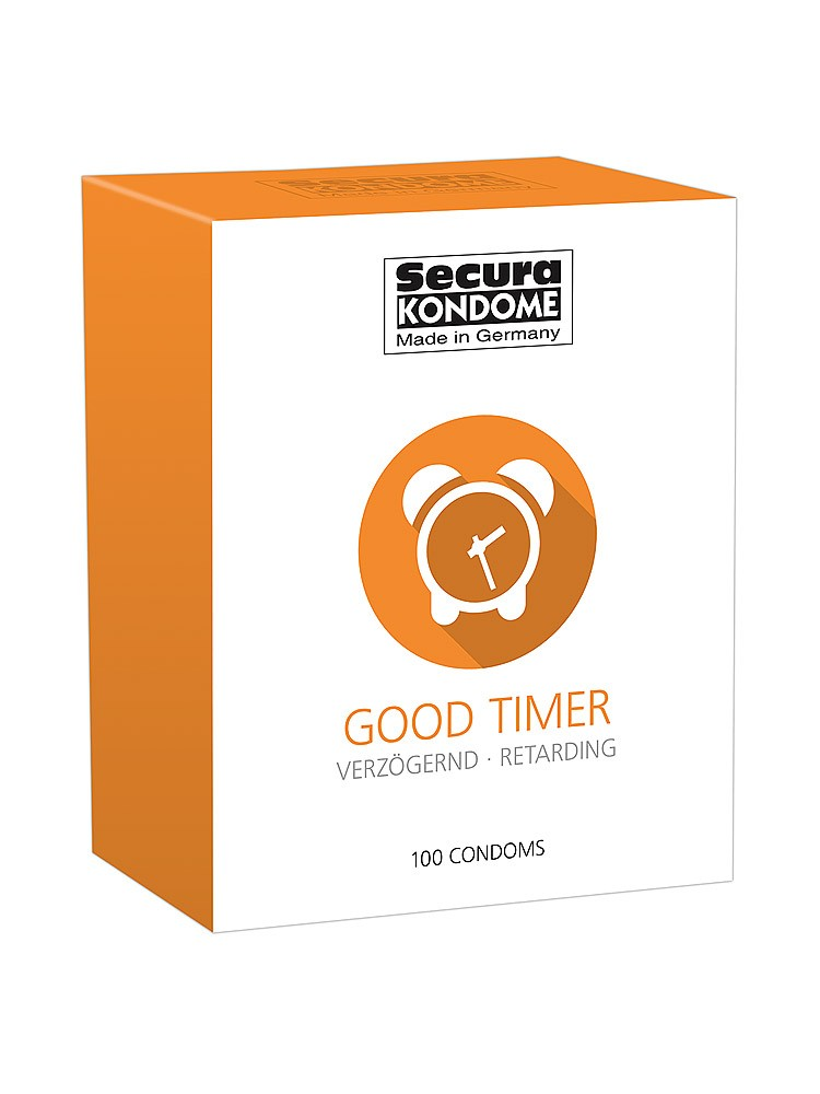 Secura Good Timer: Kondome, 100er Pack