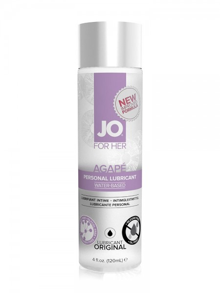 System JO Agape Waterbased: Gleitgel (120ml)