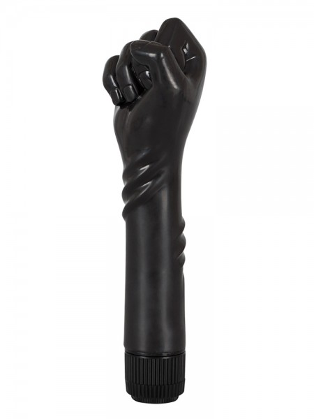 The Black Fist: Faust-Vibrator, schwarz