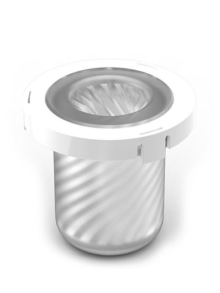 Zini DIB Bang! Inner Cup Blade Edge: Ersatz-Inlet, transparent