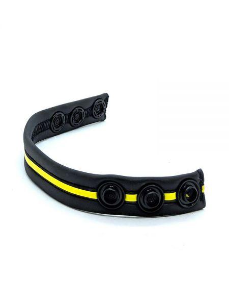 Neoprene Racer Gun Strap: Cockring, schwarz/gelb