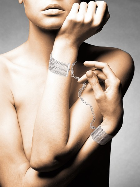 Bijoux Indiscrets The Magnifique: Handfesseln, silber