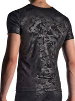 MANSTORE M950: V-Neck-Shirt, schwarz
