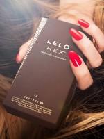 Lelo HEX Respect XL Kondome, 12er Pack