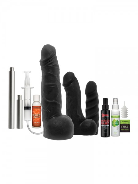 Kink Power Banger: Dildo-Set, schwarz