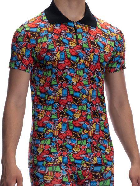 Olaf Benz RED2065: Poloshirt, gaudy
