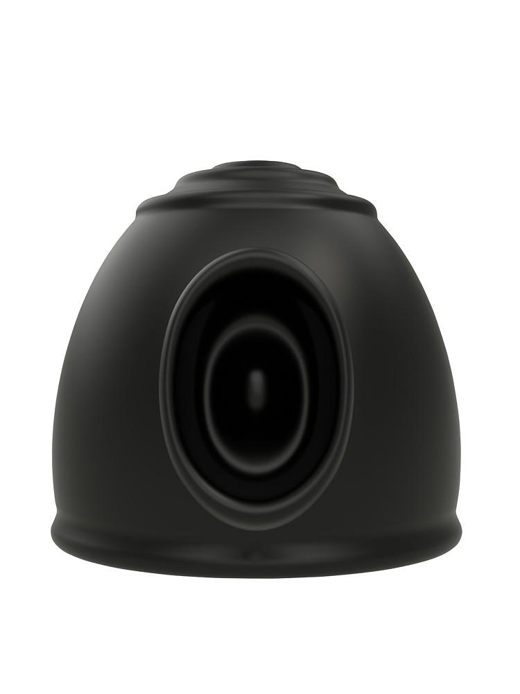 O-Wand O-La La: Vibratoraufsatz, schwarz