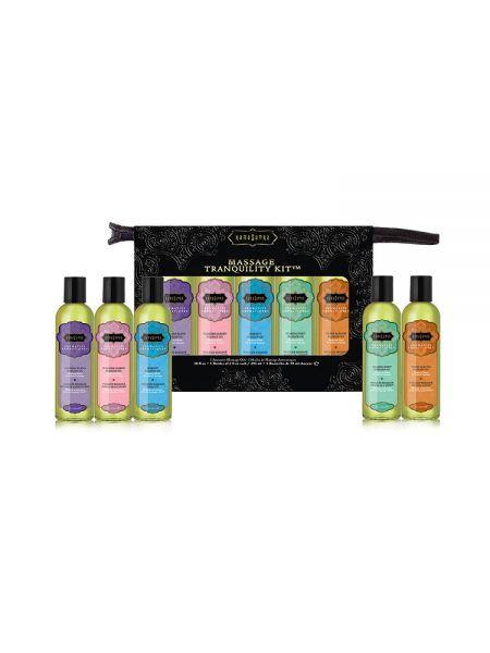 Kama Sutra Massage Tranquility Kit: Massageöl-Set (5x59ml)