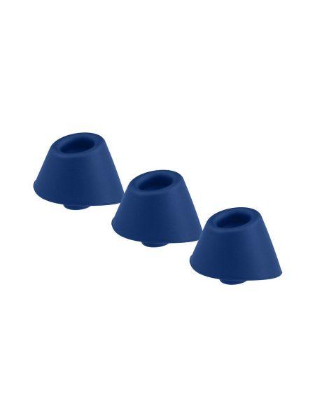 Womanizer DUO Heads: Aufsatz-Set 3-teilig, blau