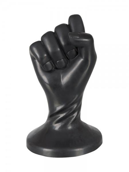 Fist Plug: Dildo, schwarz