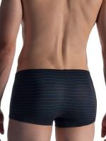 Olaf Benz RED1859: Minipant, schwarz/blau