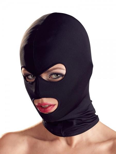 Bad Kitty Kopfmaske mit Augen-/Mundöffnung, schwarz