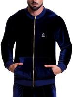 JOR Velvet: Jacket, blau