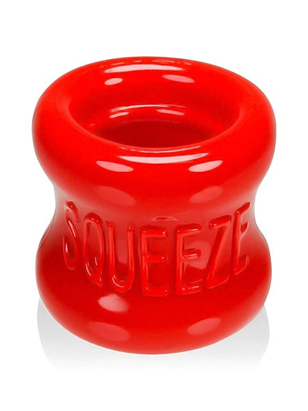 Squeeze: Hodenstretcher, rot