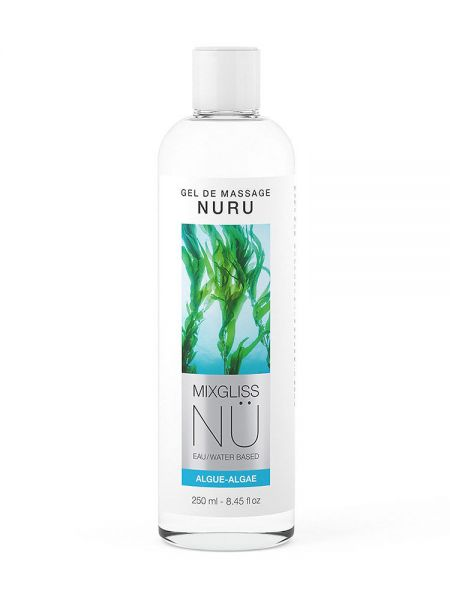 Nu Mixgliss Algue: Nuru Massagegel (250ml)