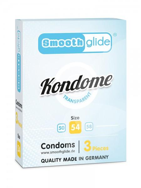 Smoothglide: Kondome 3er Pack, transparent