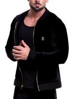 JOR Velvet: Jacket, schwarz