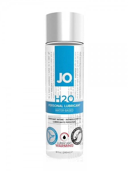 System JO H2O Waterbased Warming:Gleitgel (240ml)