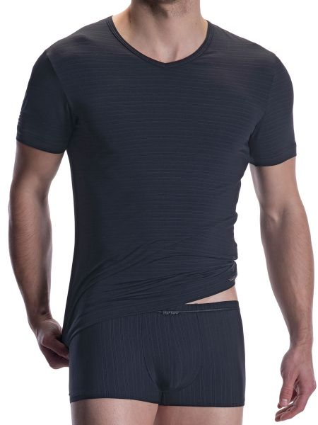 Olaf Benz RED2009: V-Neck, schwarz