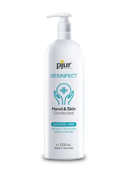 pjur Desinfect: Hand- und Haut-Desinfektionsmittel (1000ml)