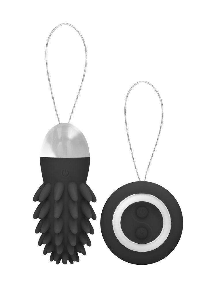Simplicity Mason: Vibro-Ei mit Fernbedienung, schwarz