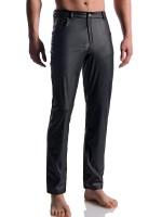 MANSTORE M104: Black Jeans, schwarz