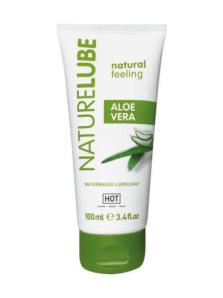 HOT Nature Lube Aloe Vera: Gleitgel (100ml)