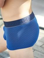 HOM Skipper: Boxer Pant, electric blue