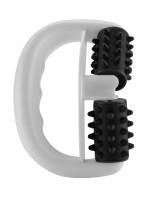 Touché Massage Roller, schwarz/weiß