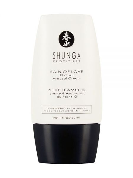 Shunga Rain of Love Cream: G-Punkt-Stimulationsgel (30ml)