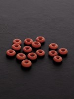 Triune Tit Torture Pliers Rings: Gummiringe für Nippelzange (100Stk.)