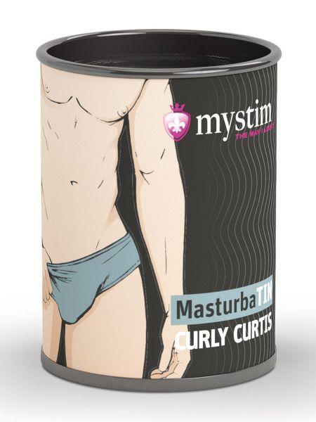 Mystim Curly Curtis: Masturbator, weiß