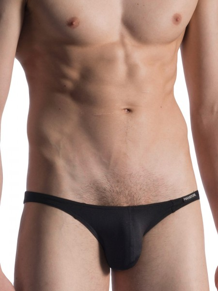 MANSTORE M800: Low Rise Brief, schwarz