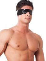 Latex-Augenmaske, schwarz