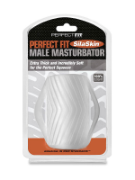 Perfect Fit Male Masturbator with Grips: Masturbator, transparent