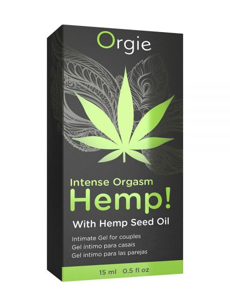 Orgie Intense Orgasm Hemp: Intimgel (15ml)