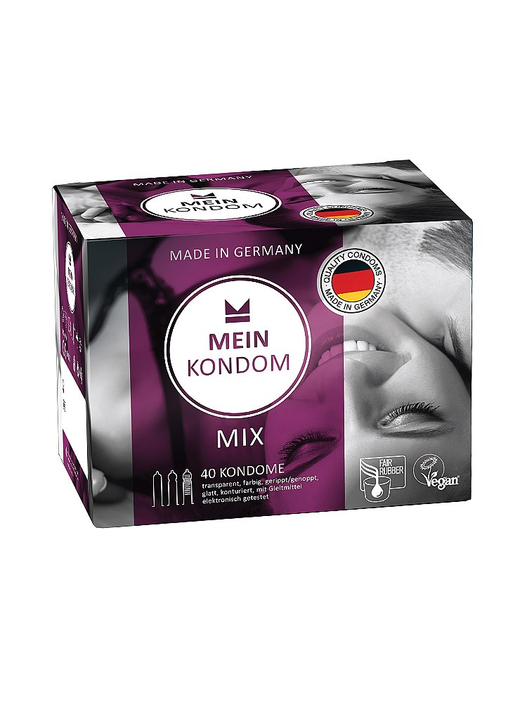 Mein Kondom Mix 40er Pack