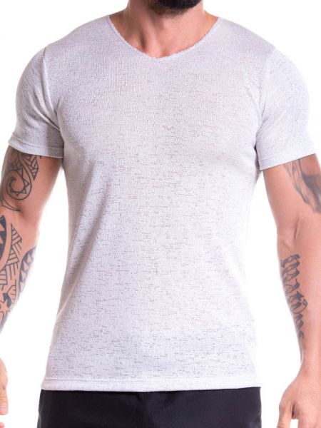 JOR Maui: V-Neck-Shirt, silber