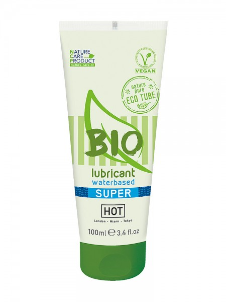 HOT Bio Waterbased Super: Gleitgel (100ml)