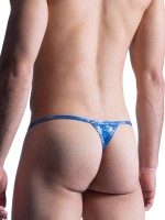 MANSTORE M857: Stripper String, blau