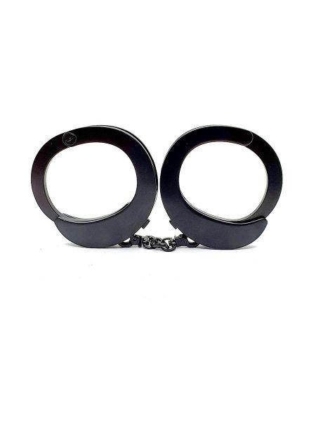 Roomfun UFO Handcuffs: Handschellen, schwarz matt