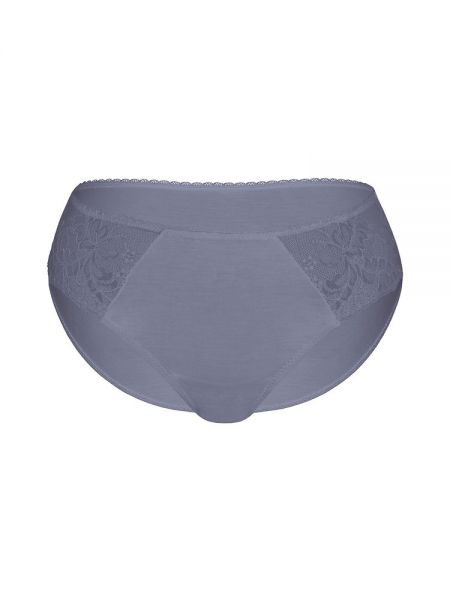 Sassa Bamboo & Lace: Slip, dusty grey