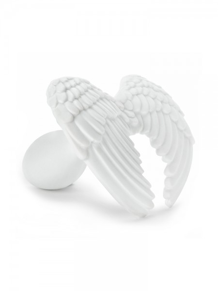 Rends Mascot Plug Angel: Analplug, weiß