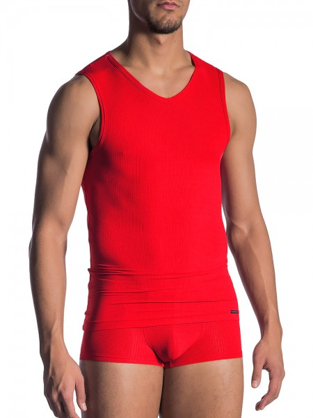 Olaf Benz RED1802: Collegeshirt, rot