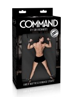 Sir Richards Command Under Mattress Straps: Bettfessel-Set, schwarz