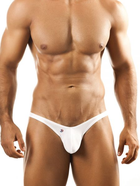 Joe Snyder Bulge04: Bikini Brief, weiß