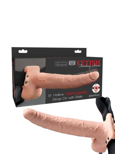 Fetish Fantasy RC Strap-On 9'': Vibro-Strap-On, haut