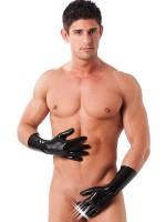 Latex-Handschuhe kurz, schwarz