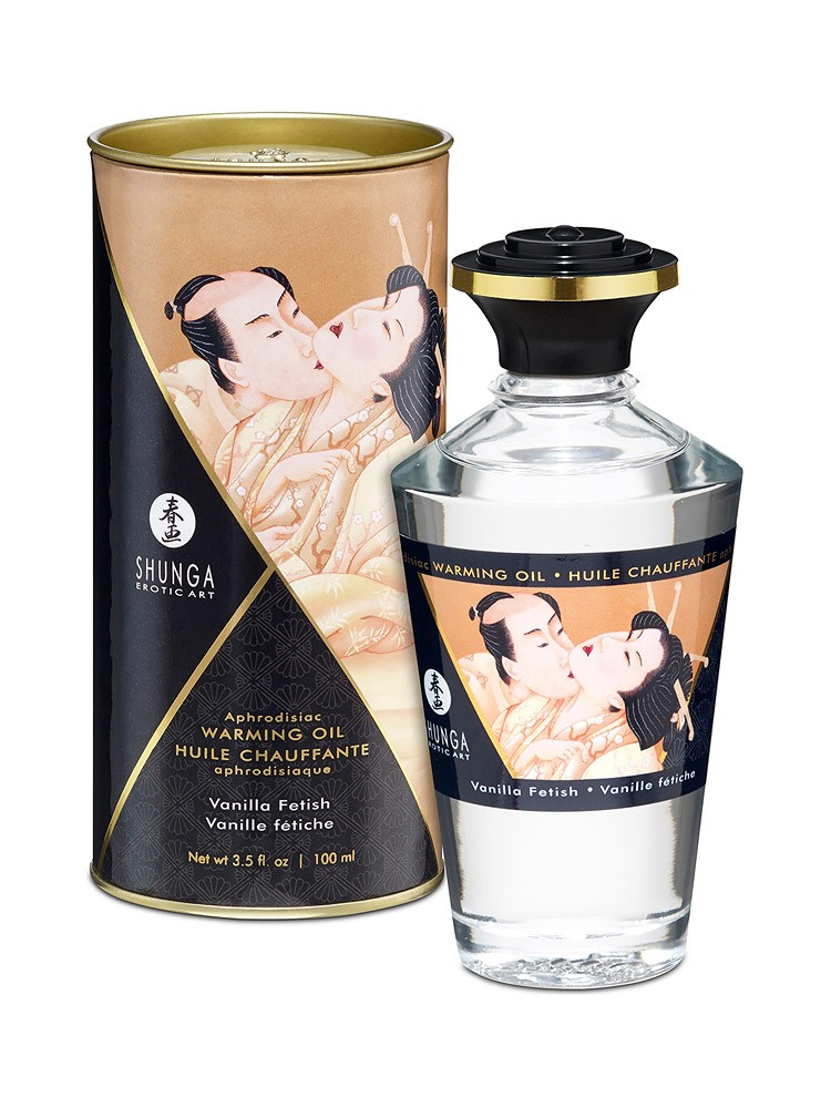 Shunga Intimate Kisses �l Vanilla: Körperöl (100ml)