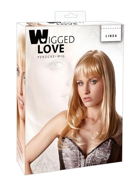 Langhaarperücke: Linda, blond
